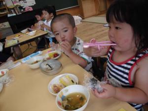 スープも美味しいね(*'▽')