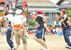 5歳児親子競技