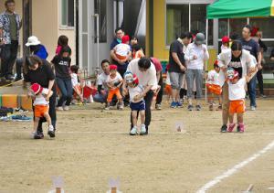 ひよこ・3歳児親子競技